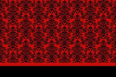 Fundo Vermelho e Preto - Kit Completo com molduras para convites ...