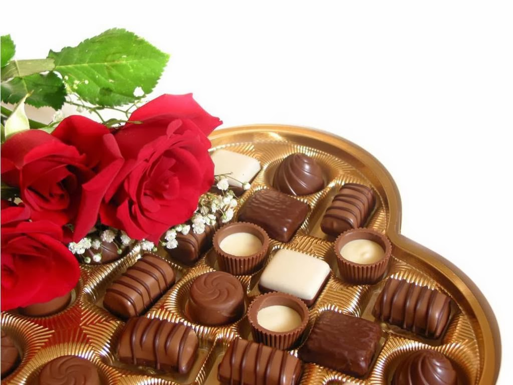 All new wallpaper Chocolates and flowers puter wallpaper