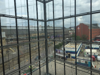 Atrium view at Crowne Plaza Newcastle near Central train Stration