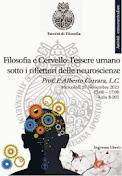 Lezione: FILOSOFIA E CERVELLO