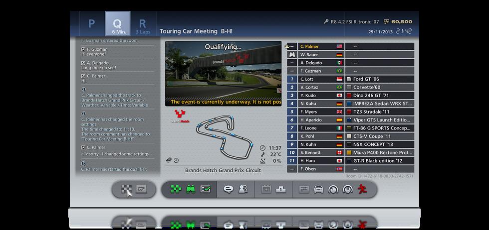 Gran Turismo 6 Online Multiplayer