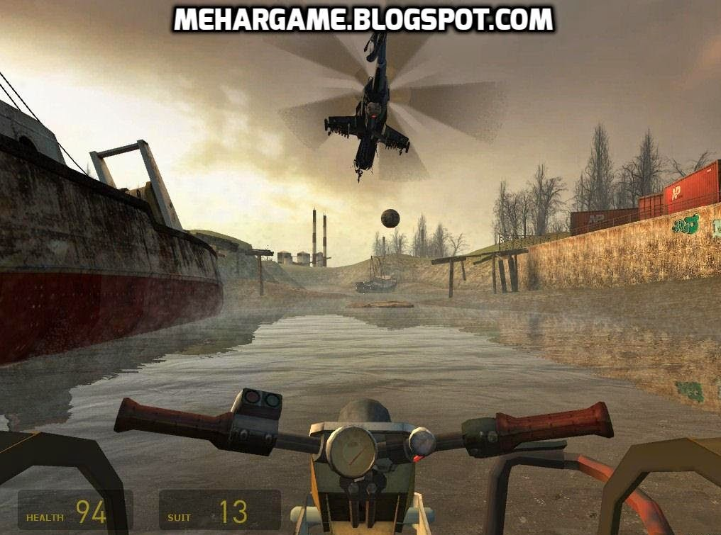 Free download full version Half Life 2 video game a first person shooter video game with VGX & BAFTA Games Award for best Action & Adventure Game.