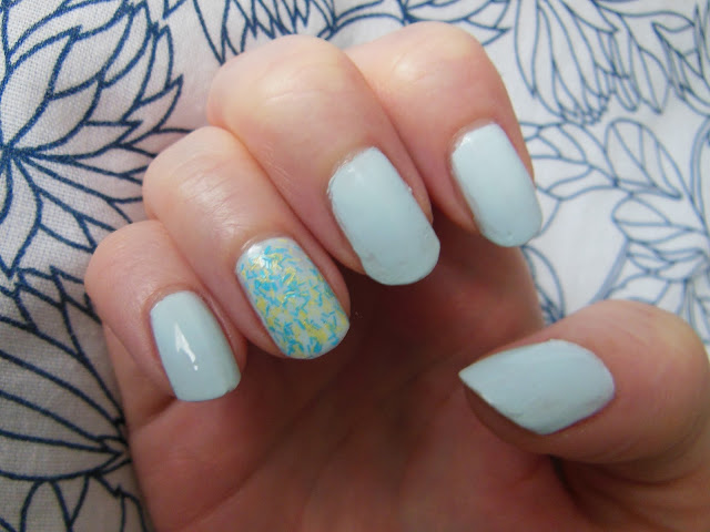 Nails Inc feather effect polish dupe