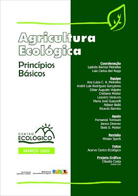 Publicação: Agricultura Ecológica (princípios básicos)
