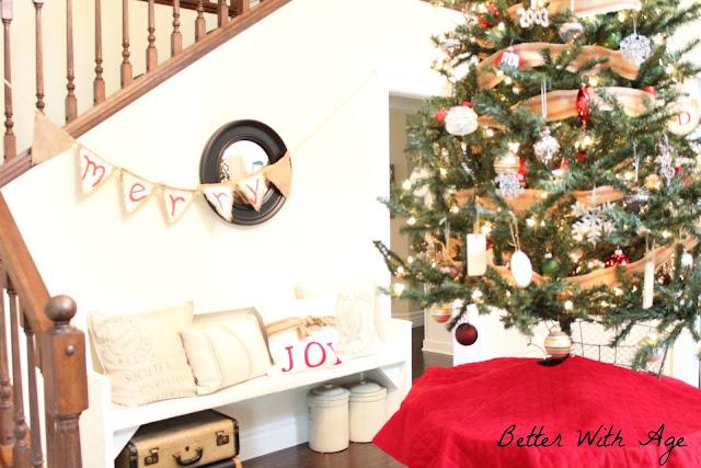 Christmas pillow www.somuchbetterwithage.com