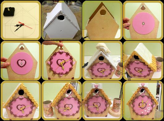 Redecorate con lola godoy reloj imitaci n de cuco - Manualidades relojes infantiles ...