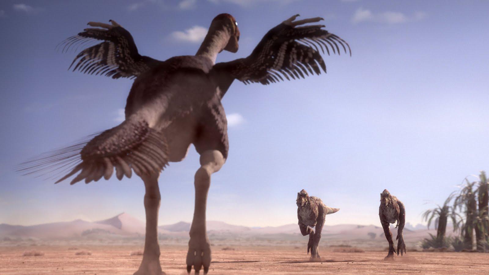 AGATHAUMAS: Gigantoraptor & Alectrosaurus