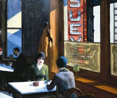 Edward Hopper - Chop Suey ,1929