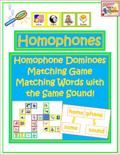 Homophone-Matching-Activities