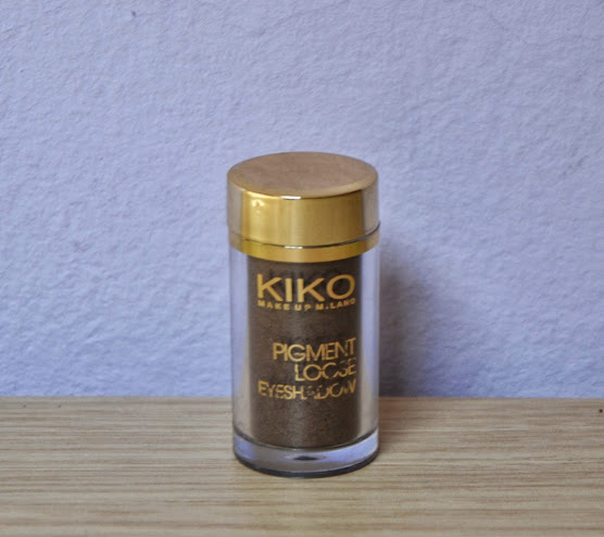 Review: Kiko Pigment Loose Eyeshadow Green Wood