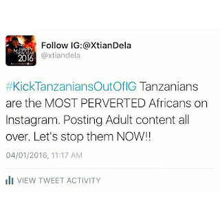 Here's Why Kenyans Want Tanzanians Kicked Out Of Instagram- #KickTanzaniansOutOfIG
