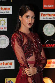 Lavanya Tripathi Stills in Red Long Dress at IIFA Utsavam Awards 2016 Day 2 ~ Bollywood and South Indian Cinema Actress Exclusive Picture Galleries