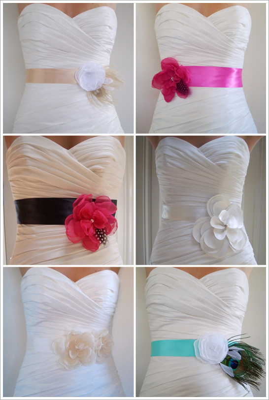 Wedding dress inspiration: Sash/Belt | Beauty Make-up