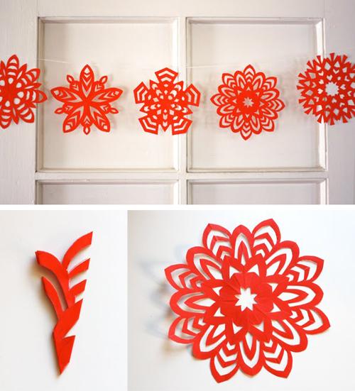 Como hacer adornos de papel imagui - Adornos navidenos papel ...