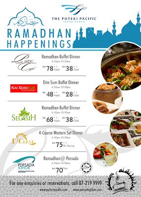Senarai Buffet Berbuka Puasa Ramadhan Johor 2015