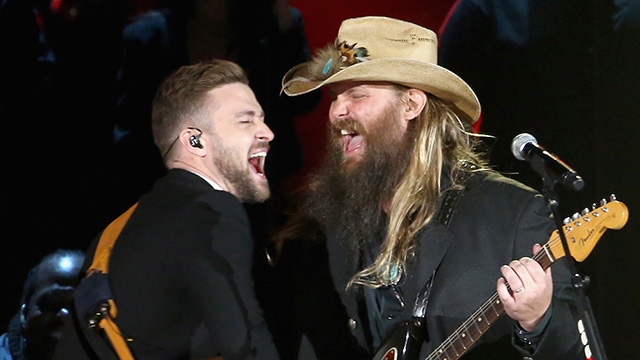 The view from behind home plate five things on a friday for Justin timberlake chris stapleton drink you away