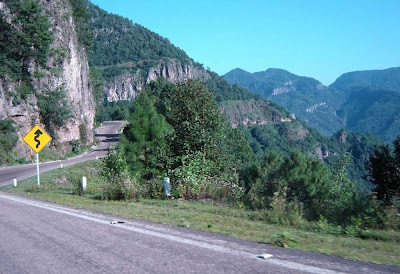 Rodovia El Espinazo Del diablo – México