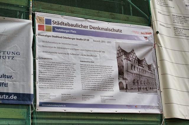 Baustelle Hotel Stadtbad Oderberger, Oderberger Straße 57-59, 10435 Berlin, 23.03.2014