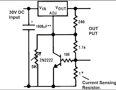 LM 317 Current Limit Circuit