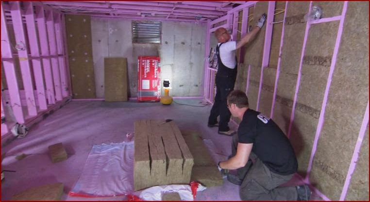Roxul insulation roxul enerwrap 80 flexible insulation for Blanket insulation basement walls