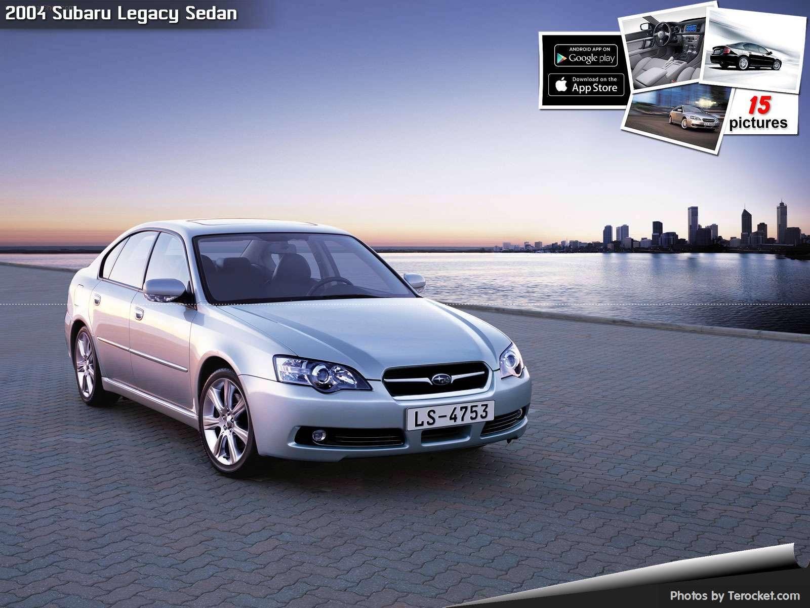 Hình ảnh xe ô tô Subaru Legacy Sedan 2004 & nội ngoại thất