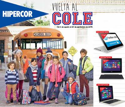 Hipercor Vuelta al Cole 2015