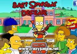 Jugar Bart Simpson Defense
