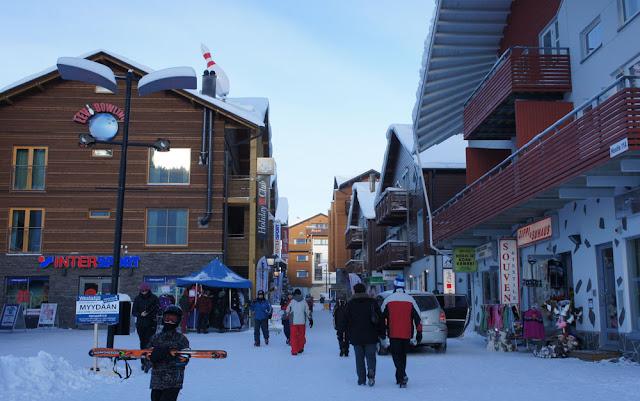 Levi ski resort, Lapland, Finland