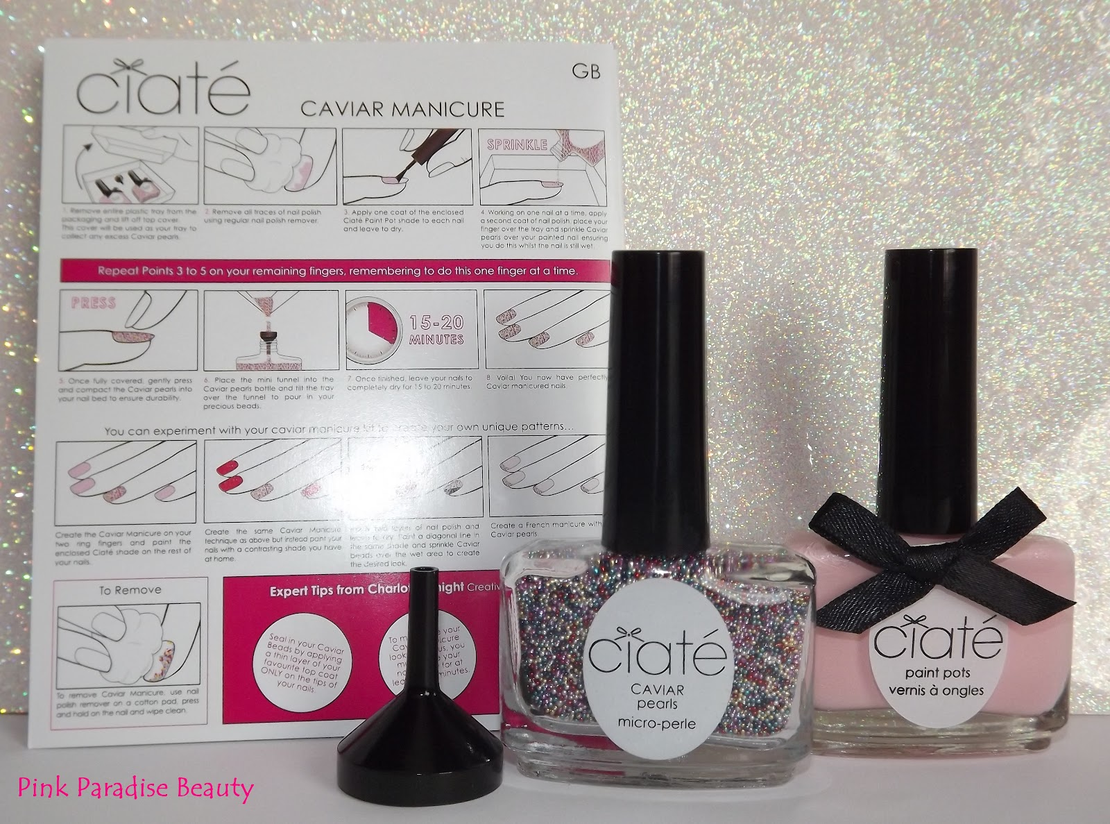 Ciate Caviar Rainbow Manicure Review, Swatches and Photo\'s | Pink ...