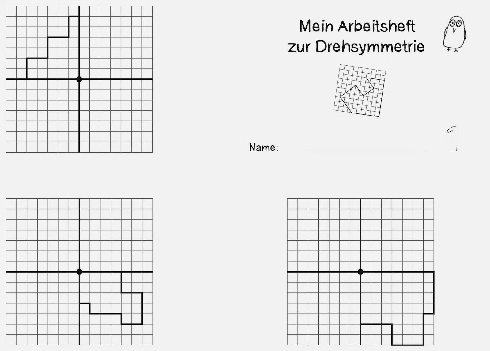 Arbeitsblatt symmetrie