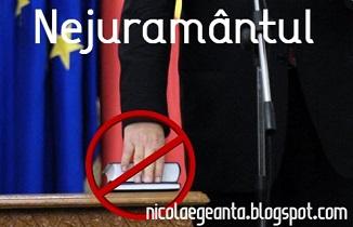Nicolae Geantă 🔴 Nejurământul