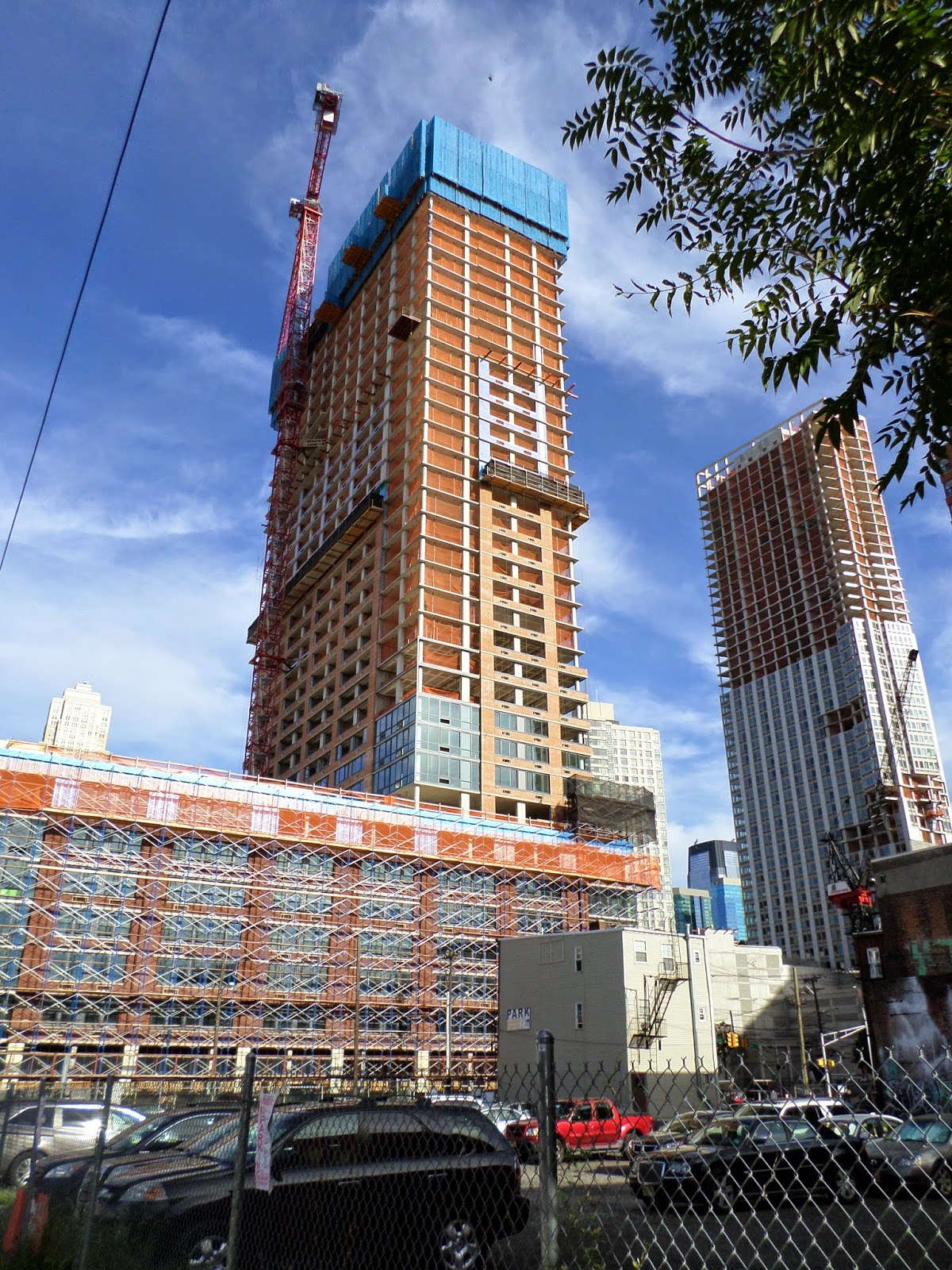 The Morgan At Provost Square >> JERSEY CITY | 160 Morgan St (Provost Square) | FT | 38 + 38 FLOORS - Under Construction - YIMBY ...