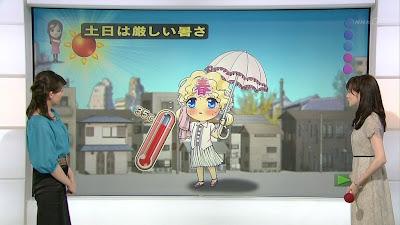 Haru chan Aki Toyosaki NHK News Watch 9