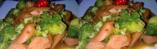 Resep Sup Brokoli Sosis