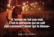 Phrase d'amour fini