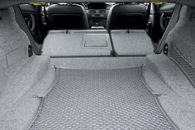 2008 BMW M3 Sedan Back Interior