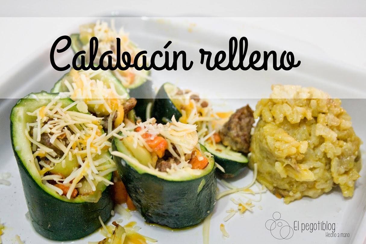 Receta de Calabacín relleno - El Pegotiblog