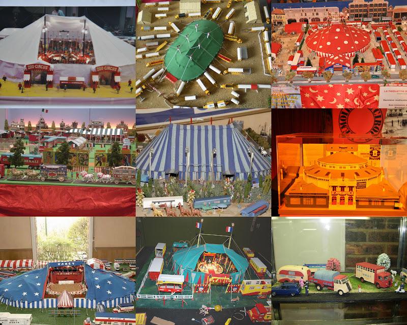 burguscircus le 2 me salon de la maquette de cirque paris du 17 au 19 f vrier 2012. Black Bedroom Furniture Sets. Home Design Ideas