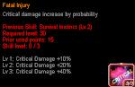 GhostX Ultimate - Fatal Injury