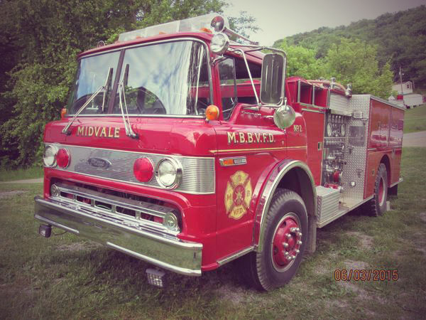 1980 Ford Pierce C-900 Fire Truck