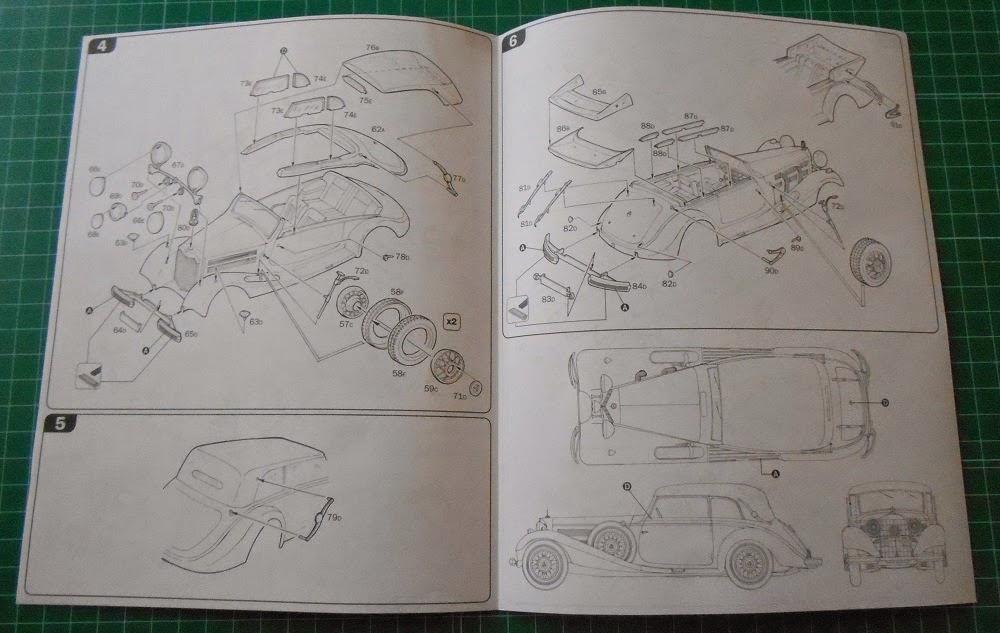 Mercedes Benz 540K 1:24