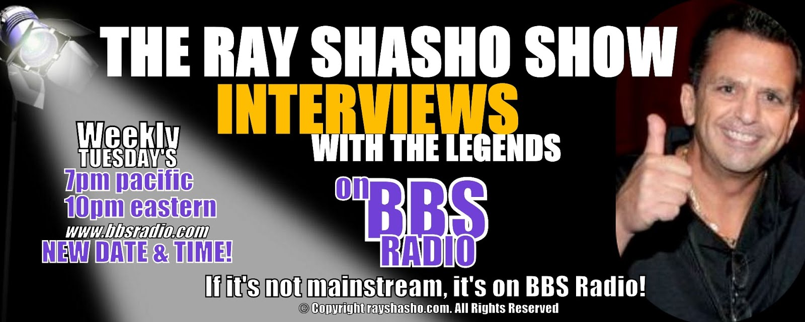 THE RAY SHASHO SHOW