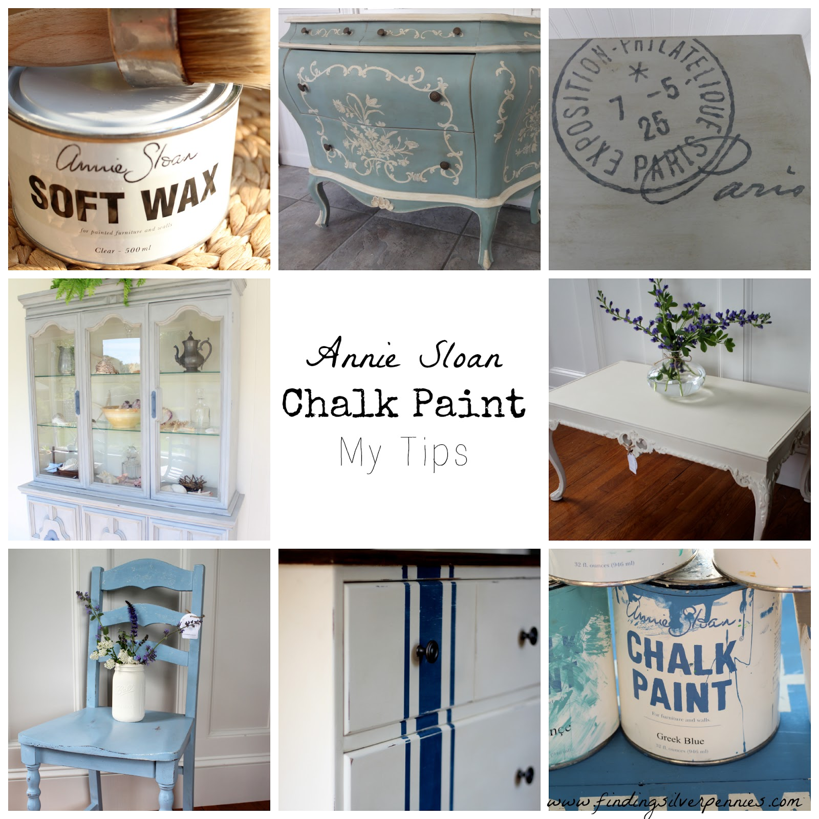 Annie Sloan Chalk Paint - My Tips - Finding Silver Pennies