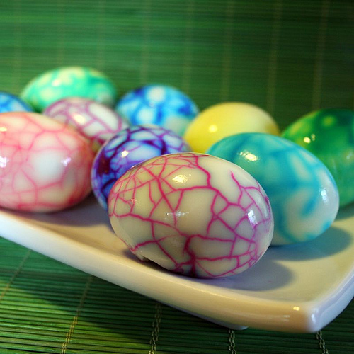 Inkspired Musings Easter Eggs And Decorating A Pretty Table