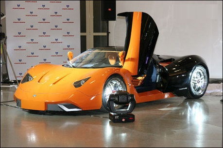 Amazing Uniqueness Of The Concept Is That Of Several Completely Different In Design  And Color Vehicle Bodies Can Fit Sole Chassis. Together With The Outside ...