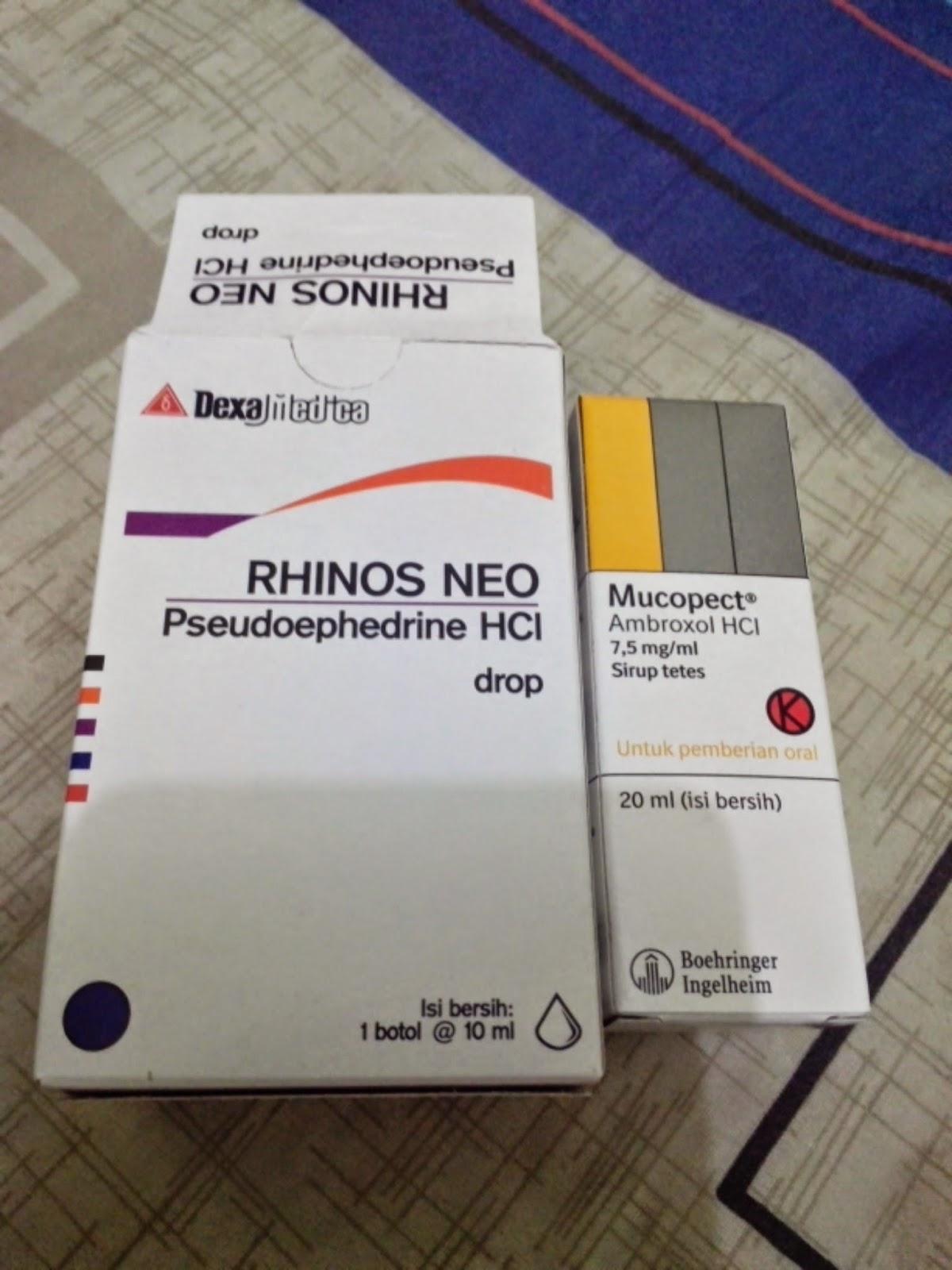 Rhinos Neo Oral Drops Pseudoephedrine Daftar Dosis Obat