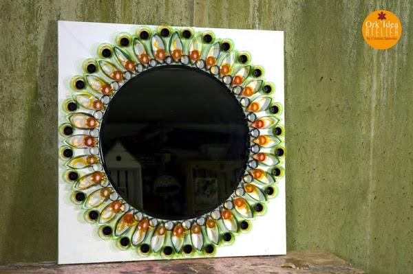 Ork 39 idea atelier tutorial come creare una cornice per - Specchio di plastica ...