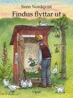 Sven Nordqvist, Findus flyttar ut, Förlag Opal, Titel: Sven Nordqvist