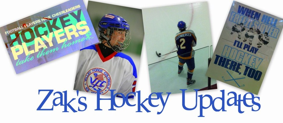Zak's Hockey Updates