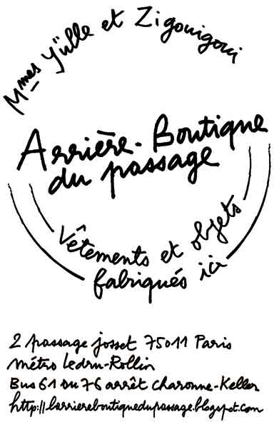 L&#39;Arrire-Boutique du passage